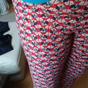 French bulldog frenchie red LULAROE tc legging